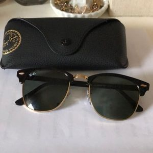 Ray-Ban Clubmaster sunglasses!